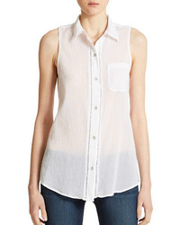 DKNY Jeans Sleeveless Blouse