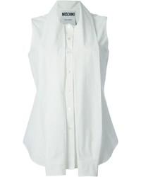 Moschino Draped Sleeve Detail Shirt