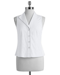 Jones New York Non Iron Sleeveless Ez Shirt