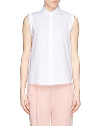Nobrand Perforated Back Sleeveless Shirt