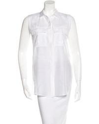 Helmut Lang Sheer Button Up Shirt