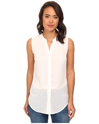 Brigitte Bailey Sleeveless Button Down Blouse