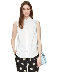 Kate Spade Sleeveless Button Down Shirt