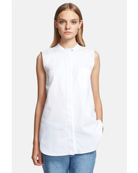 Proenza Schouler Sleeveless Cotton Pique Shirt