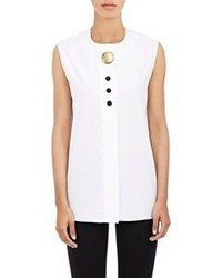 Balenciaga Sleeveless Shirt White