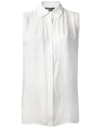 Vince Relaxed Sleeveless Shirt