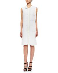 Opening Ceremony Mallory Twill Welt Pocket Vest White