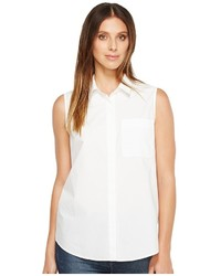 NYDJ Cut Away Sleeveless Top Sleeveless
