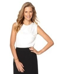 Kasper Top Sleeveless Suiting Shell