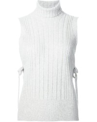 Maison Margiela Sleeveless Ribbed Top