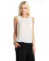 BCBGeneration Pearl Trimmed Top