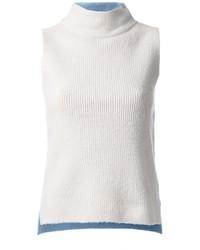 Sleeveless mock neck top medium 830486