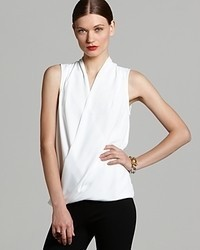 Vince Camuto Sleeveless Wrap Top