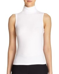 White sleeveless turtleneck original 10572683