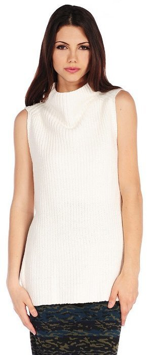 RD Style Cowl Neck Sleeveless Sweater | Where to buy & how to wear