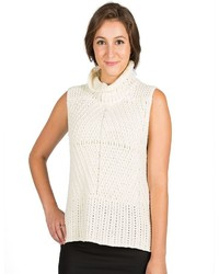Harve Benard Sleeveless Turtleneck Sweater