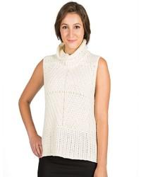 Harve Benard Sleeveless Turtleneck Sweater