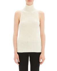 Theory Plaited Stripe Shell Sweater