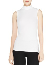 ATM Anthony Thomas Melillo Sleeveless Turtleneck Top