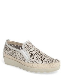The Flexx Call Me Perforated Slip On Sneaker