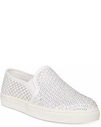 Material Girl Eidyth Slip On Embellished Sneakers Created For Macys Shoes
