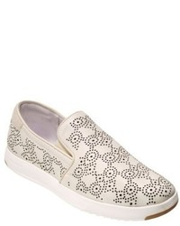 Cole Haan Grandpro Perforated Slip On Sneaker