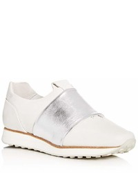 Rag & Bone Leather Slip On Sneakers