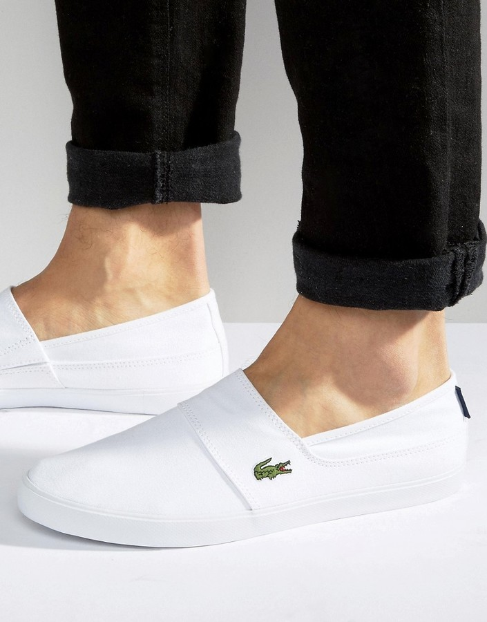 8d96df21b ... Lacoste Marice Slip On Sneakers ...