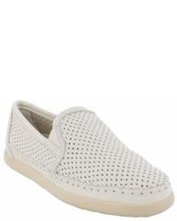 Minnetonka Pacific Perforated Slip On Sneaker