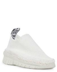 Kenzo Uni Mesh Espadrille Slip On Sneakers