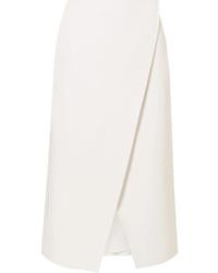 Beaufille Kari Pleated Twill Wrap Skirt