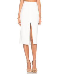 Blaque Label Center Slit Knit Pencil Skirt