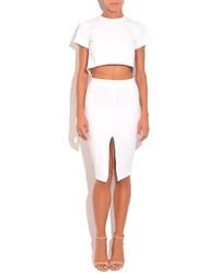 Donna Mizani Front Slit Skirt