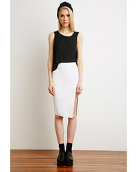 Forever 21 Front Slit Pencil Skirt