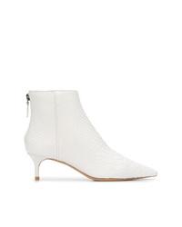 Alexandre Birman Kittie Python Skin Boots