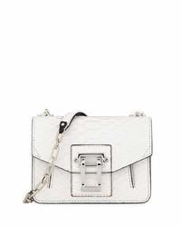 Proenza Schouler Hava Matte Python Chain Crossbody Bag White