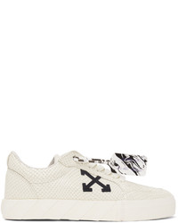 Off-White White Snake Low Vulcanized Sneakers