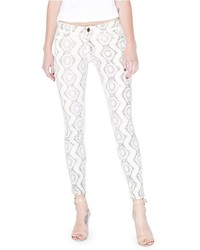 The skinny no 61 jean with snake foil print medium 449655