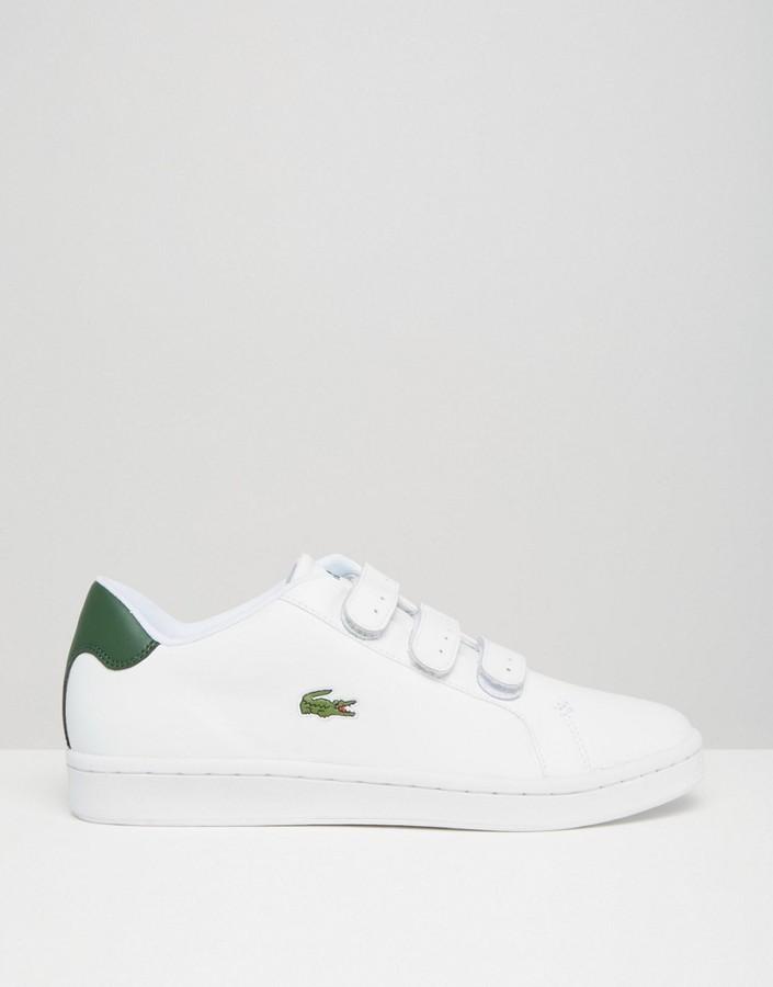 lacoste velcro sneakers