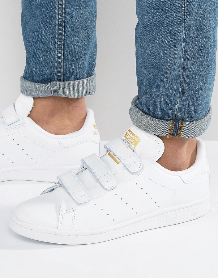 hot sale online 1c830 9fbff ... adidas Originals Stan Smith Cf Sneakers In White S75188 ...