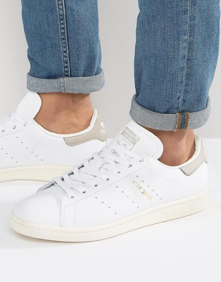 cheaper 8b020 9c4d0 $100, adidas Originals Stan Smith Sneakers In White S75075
