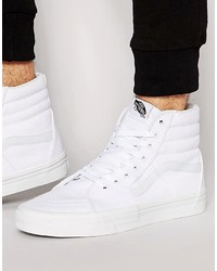 Vans Sk8 Hi Sneakers In White Vd5iw00
