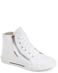 Superga Toddler Girls High Top Zip Sneaker