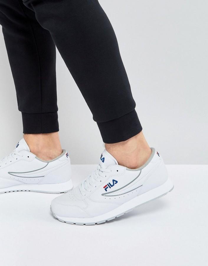 $87, Fila Vintage Orbit Low Sneakers