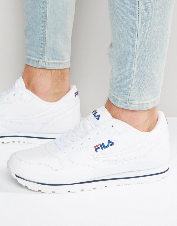 Fila Vintage Orbit Low Sneakers, $83