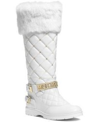 Michael Kors Michl Kors Essex Embellished Quilted Leather Boot