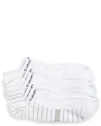 Calvin Klein Coolpass 3 Pack No Show Socks