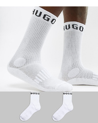 BOSS Crew Socks With Logo 2 Pack
