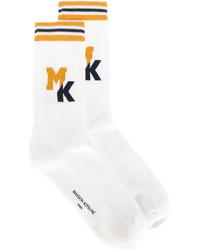 Maison kitsun logo socks medium 5274848