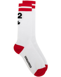 DSQUARED2 Maple Leaf Socks